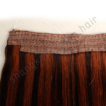 HARMONY flip hair/filpin hair extensions/flip in human remy hair extensions