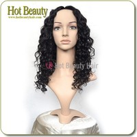 Brazilian Hair With Free Closure Human Hair U Part African American Wigs