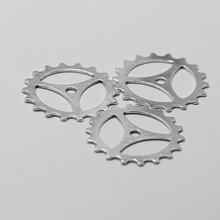 40mm DIY Zinc alloy rotary tiller gears ceramic large ring gears
