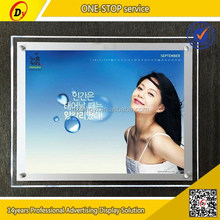 hot sale plexiglass picture frames used indoor poster slim light box