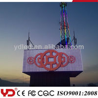 YD CE FCC CQC approved IP68 waterproof large led ad light display screen