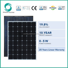 Made in China good price Mono 260w flexible solar panel