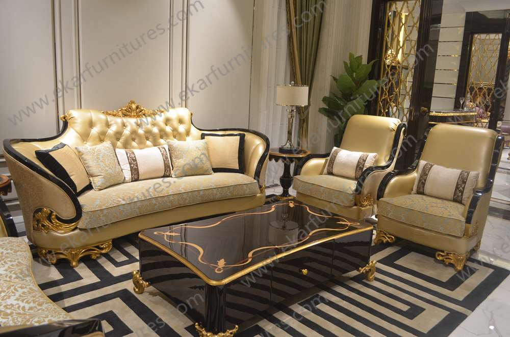 Furniture Living Room Antique Reproduction Arabic French Sofa Buy