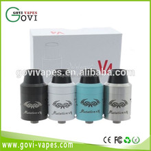 New Mutation X V4 RDA Atomizers 1:1 Clone Rebuildable Atomizer tank With Wide Bore Drip tips mod in stock now