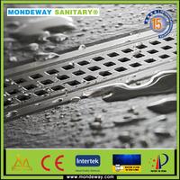 HOT SALES 40*7*7CM Austialia DesignSUS 304/316 Floor Drains battery scrap sale drain cleaner linear shower drain GOOD PRICES