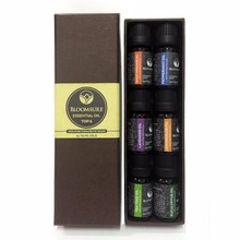Essential oil 100% Pure Essential Oil Gift Set- 6/10 Ml Aromatherapy Gift Set 6 pure oil /10ml private label -826065