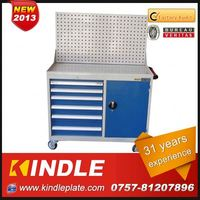 Kindle 17-Drawers,4 Casters Stable Steel Garage Tool Cabinet metal truck tool boxes