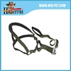 Durable charm army green nylon sewed with foam dog collar and lead for training and hunting
