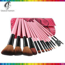 2015 New cosmetics products 15pcs wholesale brushes makeup