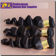 New arrival g7 hiar products human hair unprocessed loose wave virgin brazilian hair