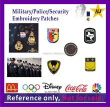 china embroidery patches for army , police, security