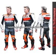 Honda Repsol- race Quality Leather Suit 1 piece or 2 piece