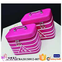 china supplier professional nylon professional cosmetic trolley cases