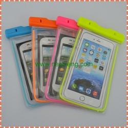 Transparent PVC Mobile Phone Case WaterProof Bag Waterproof Case for iphone 6 Waterproof Pouch