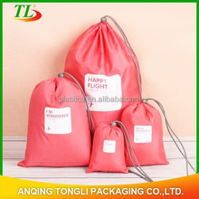 Best selling!!non woven drawstring bag,drawstring shoe bag with low price for packing wholesales