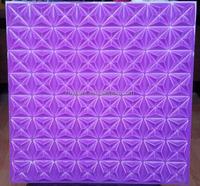 2015 Hot Sale polymer Composite Artistic 3d PVC Wall Panels Designs