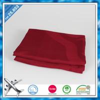 100 modacrylic blanket Woven jacquard airplane blanket original flame retardant yarn weaved jacquard blanket