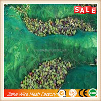 China agriculture good quality plastic knitted olive harvest net