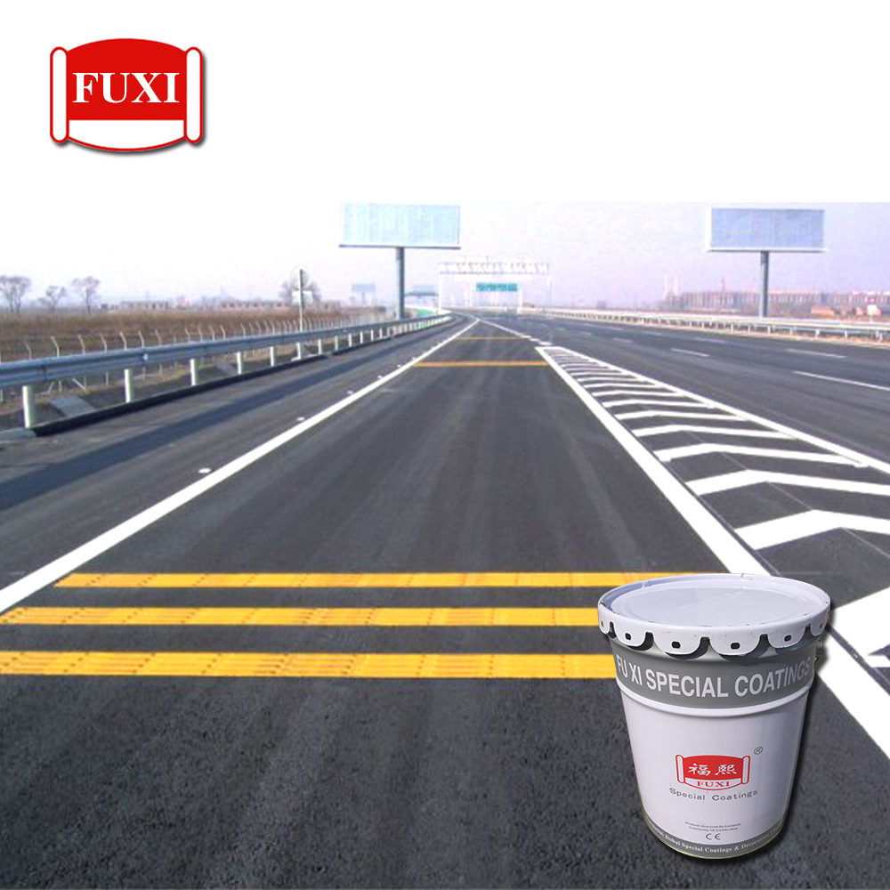 Iso9001 System Approved White And Yellow Line Road Marking