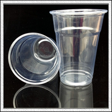 Custom coffee drinks ice tea juice disposable plastic cups wholesale custom high through thick large price advantages
