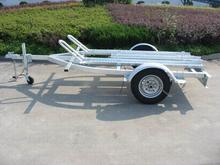single axle motorcycle trailer