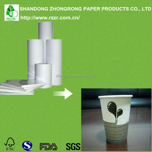 most advanced 190-350gsm pe coated paper manufacturers for paper cup