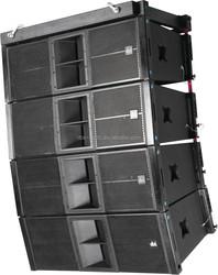 Dual 12 inch high power 600 watts concert line array speaker system EL-212
