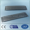 Bajo carbono 0.55 / 0.75 mm enganchado extremo de la fibra de acero