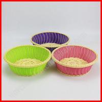 Plastic rattan bread basket wholesale heated bread basket
