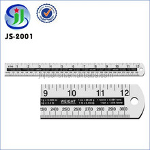 15 cm General Purpose Aluminum straight ruler with Conversion Table