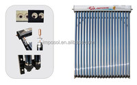 Heat Pipe Solar Collector for System with Solar Keymark approved