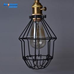 New design hot sale decorative antique ceiling bird cage hanging pendant light