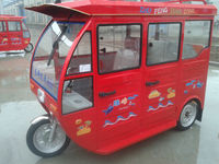 2 door electric tricycle on hot selling