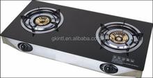 GK-TGSB2-01 Tempered Glass top 2 burner gas stove/gas cooker/ cooktop