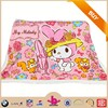 2015 new design eco-Friendly cute cartoon printing infant baby receiving blankets use super soft fannel fabric