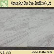Imported Volakas White Marble Polished Tiles