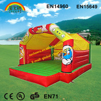 Giant funny kids air playground inflatable jumping castle