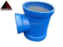 ISO 2531 All socket tee with FBE coating