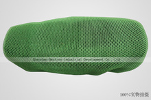 3D seat motorcycle cover honeycomb thickening mesh seat cover for motorbike