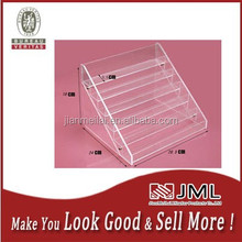 Eco-Friendly Hot sale clear acrylic 6 layers 48 bottles nail Polish display /factory OEM