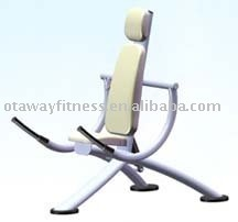 biceps curl/triceps extension/hydraulic circuit training machine