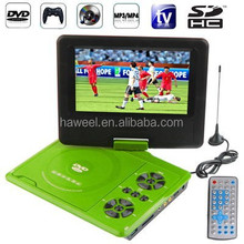7.5 inch TFT LCD Screen Digital Multimedia Portable DVD with Card Reader & USB Port, Support TV (PAL / NTSC / SECAM) etc.