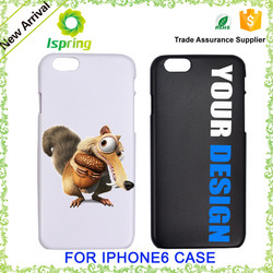 Factory direct cheap gift promotional animal phone case for iPhone 6