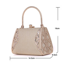 Spot foreign trade dinner beauty princess bride bag package Mom's birthday gift clutch bag