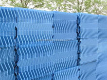China Opened Cooling Tower Manufacturers/PVC S wave cooling tower fills for industrial use