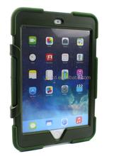 For iPad mini 3 iPad mini shock resistant waterproof hybrid silicone case