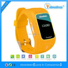 2014 newest smallest waterproof IP65 kids gps watch with calling and voice monitor -Abardeen watch only for sole agent