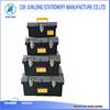 PP PLASTIC TOOL BOX SET WITH STEEL LOCK