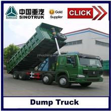 China mining tipper truck 8x4, front lifting mining dump truck,HOWO dump trucks head