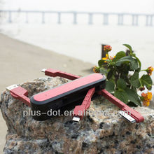 Promotional Gift Swiss Army Knife usb multi charge cable for IPhone 5/IPhone 4/Android Smart phones
